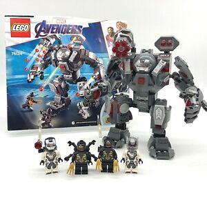 LEGO Marvel Super Heroes 76124 Avengers War Machine Hulk Buster Complete Set