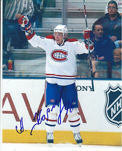 Andrei Kostitsyn Autograph Montreal Canadiens Photo Pardubice HC - Traktor