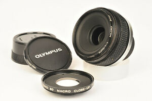 Olympus OM System Zuiko Auto 1:1 Macro 80mm f/4 with Close-Up 170mm Lens