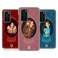 HEAD CASE DESIGNS FAIRY TALE PRINCESSES SOFT GEL CASE FOR HUAWEI PHONES