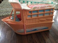 Vintage BARBIE Party Boat with Accessories - Dream House Boat - Free Shipping