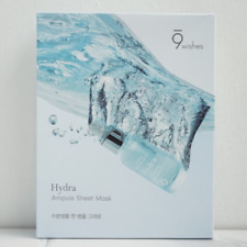 9wishes Hydra Ampule Sheet Mask 25ml x 5pcs Moisturizing Effect K-Beauty