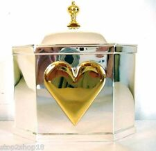 Lenox Wedding Promises Silverplate Heart Box large Colonial Williamsburg New