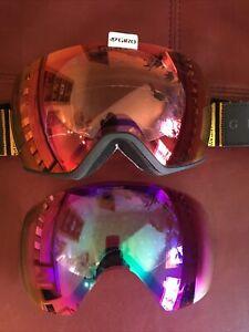 New Without Package Giro Lusi Women's Goggles Plus Bonus Lens
