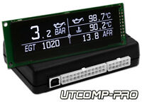 UTCOMP-PRO - TURBO BOOST, OIL PRESSURE, TEMPERATURE, EGT, AFR GAUGE meter &more