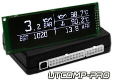 UTCOMP-PRO - TURBO BOOST, OIL PRESSURE, TEMPERATURE, EGT, AFR GAUGE meter &more
