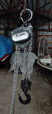 R&M 5 Ton Chain Hoist 10' Lift