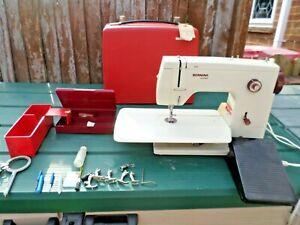 Vintage Bernina 807 minimatic Multi- Decorative Stitch Sewing machine
