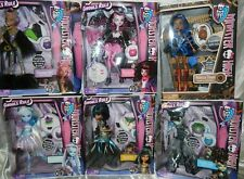 6 Monster High GHOULS RULE Dolls ABBEY Clawdeen CLEO Draculaura FRANKIE Robecca