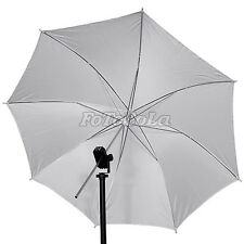 "2pcs 33"" studio flash soft umbrella translucent white"