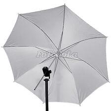 """2pcs 33"""" studio flash soft umbrella translucent white"""