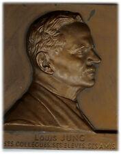 France - Comm. Plate Medal - Louis JUNG Ecole Veterinaire de Lyon 1935-1958