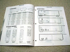 Pioneer 1996 full product line reference guide/brochure