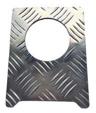 Tapa de combustible envolvente (Large) - 2 mm Chequer Placa-Natural-Defensor