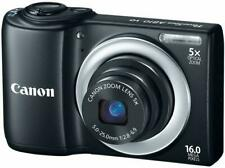 Canon PowerShot A810 HD Digital Camera 5x Optical Zoom 16 Pixels - Black
