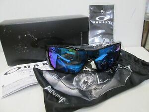 NEW IN BOX W/ Papers OAKLEY BATWOLF Prizm Sapphire Iridium Sunglasses 009101 *