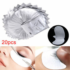 20 Pairs Under Eye Lint Free Gel Pads Patches Eyelash Extensions Beauty Tool