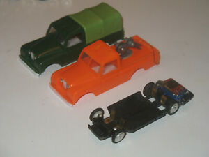 Marx Motorific style Bodies with chassis and motor