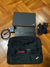 "Lenovo ThinkPad T460 14"" FHD Ultrabook LAPTOP 8GB RAM 256GB SSD Win10P PACKAGE"