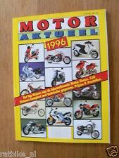 MOTOR AKTUEEL 1996 ALL MODELS DUTCH MARKET IN COLOUR,BETA,BIMOTA,BMW,CAGIVA,DERB