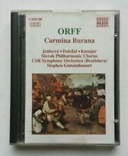 Orff - Carmina Burana MiniDisc Album MD Classical Music NAXOS Rare