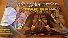 Star Wars Saga Edition Trivial Pursuit Dvd Trivia Game 2005 Complete