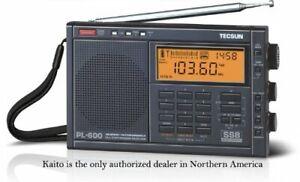 Used Tecsun PL600 AM FM LW SSB Shortwave Radio with Dual Conversion