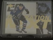 1996-97 Upper Deck Generation Next X26 Peter Bondra / Petr Sykora Hockey Card