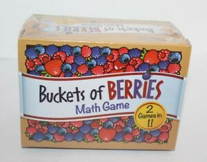 Buckets Of Berries Math Game Brand New & Sealed Early Learner Game 3+