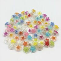 20 bouton étoile tige scrapbooking couleurs mixte couture bricolage 15mm déco