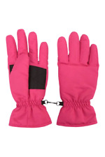 Mountain Warehouse Ski Gloves Small Bright Pink Insulated Snowproof Ski BNWT
