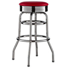 Barhocker Rot American Diner Bar Barstuhl 50er Retro Stuhl US Style Neu