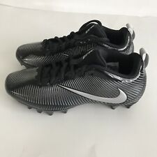Nike Vapor 3 Soccer Cleats Size 5.5 Youth Black Silver