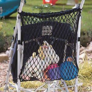 Stroller/Buggy Shopping Bag Storage Net BLACK fits Maclaren, Quinny Buzz Zapp,,