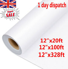 100M Clear Vinyl Application Tape for Car Wall Craft Art Decal Transfer Paper UK
