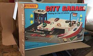 1981 Matchbox City Parking Garage Complete With Original Box