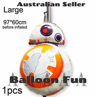 STAR WARS BALLOON 96cm BB8 THE FORCE AWAKENS MOVIE PARTY SUPPLIES ROBOT TOY R2D2