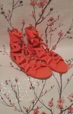 V.Rare Superb ADIDAS Neon Pink Strappy Sandles Gladiator Style size 5 - £75 New