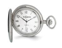Swingtime Stainless Steel Quartz 48mm Pocket Watch
