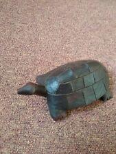 """Wooden Tortoise 6 """" Long Ornament From Kenya"""