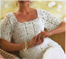Womens Crochet Top PATTERN (NOT FINISHED ITEM)