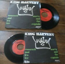 KING HARVEST - Rossevelt And Ira Lee French PS 7' Blues Rock Calumet 1971