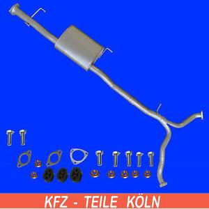 """CHEVROLET CAPTIVA (C100,C140)  3.2  4WD   Mittelschalldämpfer + """"Y"""" Rohr + Set"""