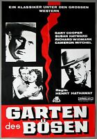 Kinoplakat Filmplakat Filmposter>Garten des Bösen<# 742