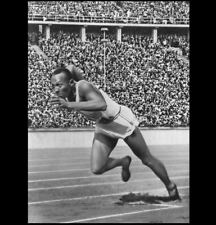 1936 Olympics Jesse Owens PHOTO Berlin Germany Gold Medal Track Athlete 200m