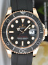 ROLEX - 40MM 18kt Rose Gold YACHTMASTER BOX BOOKS TAGS 116655 - SANT BLANC
