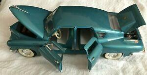 ROAD LEGENDS 1948 TUCKER #92268 1/18 SCALE DIECAST METAL WALTZ BLUE MODEL CAR