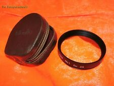 MINOLTA CLOSE UP LENS No.1 FOR SR 55N WITH MINOLTA LEATHER CASE