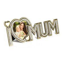 MAMMA I LOVE YOU REGALO cornice cornice foto a forma di Cuore Mother's Giorno Regalo