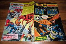 Batman Quaderno # 7 -- Ehapa 1. EDIZIONE 1977